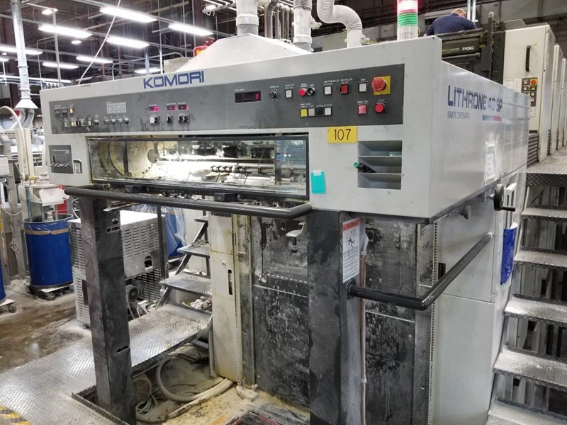 Komori Lithrone L-540 SP 2004