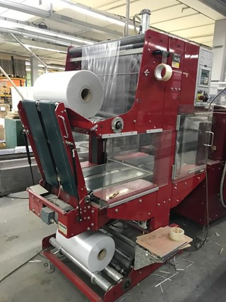 Affeldt SA 05 + VT 60 shrink wrapping machine EMBALLAGE