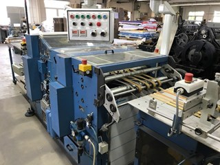 Bickel TS 3 perforating and die-cutting machine  Die Cutting
