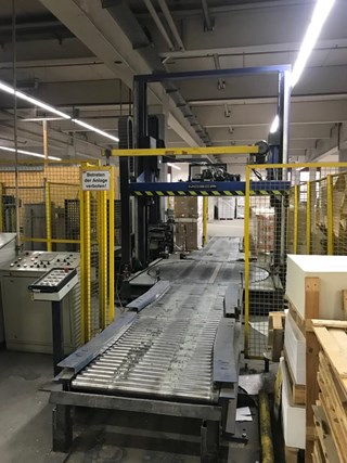 Cyklop GL 1020 + Mosca KCT-121 pallet strapping + wrapping Packing machines