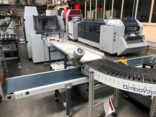 DGR KM 41 perfect binding line for digital binding Perfect Binders