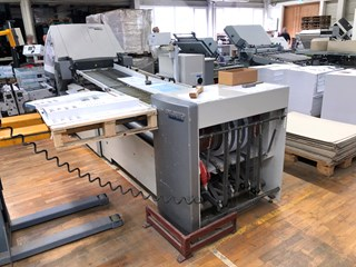 Heidelberg Stahlfolder RFH 66/6 folding machine 折页机