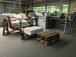 Heidelberg TD112/442 Folding Machines