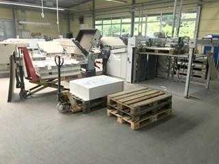 Heidelberg Stahlfolder TD 112 4/4/2 + Palamides Alpha 800 Folding Machines