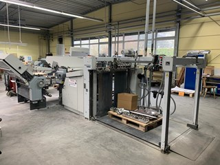 Heidelberg Stahlfolder TD 112 4/4/2 Folding Machines