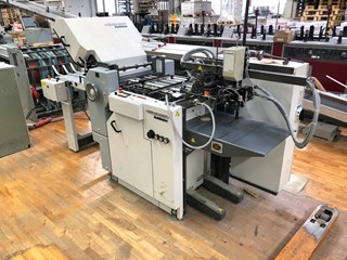 Heidelberg Ti 40/4 + SAK 56 Folding machines