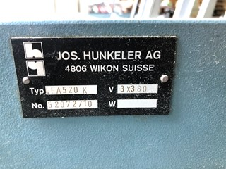 Hunkeler VA 520 K end sheet gluing machine COUVERTURE RIGIDE