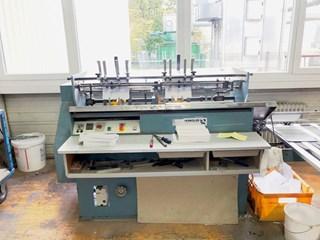 Hunkeler VEA 520 K end sheet gluing machine Hardcover Buchblockherstellung / Nähen