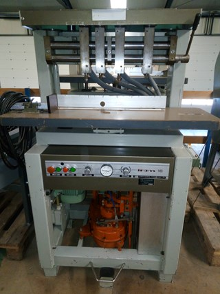 Iram 16 4 head paper drilling machine Papierbohren & Stanzen