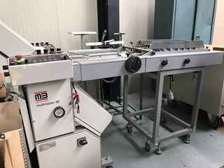 MB Multimaster 38 folding machine PLIEUSES
