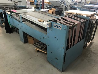 MBO B26 4/4 + SAP delivery Folding Machines