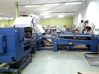 MBO B30 Efficiency folding machine with SBAP 72 Folding machines