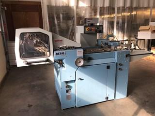 MBO T500 4/4 folding machine 折页机