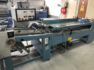 MBO T79 4/4/2 folding machine PLIEUSES