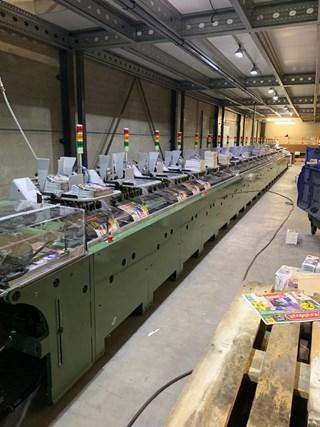 Müller Martini 227 inserting machine (25+1 stations) Mail Room Equipment