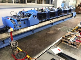 Müller Martini Primera E140 saddle stitching line Saddlestitchers