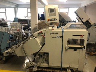 Palamides Alpha 500 delivery system Folding Machines