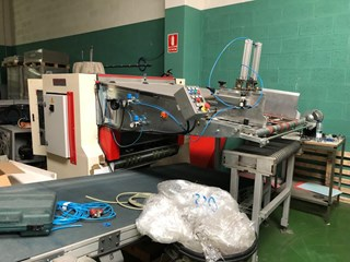 Peroni Ruggero SC 1000 Grooving Machine Hardcover Buchproduktion