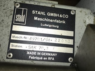 Stahl SAK 78.3 delivery Folding machines