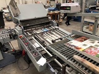 Stahl TFU 78 4/2 folding machine Falzmaschinen