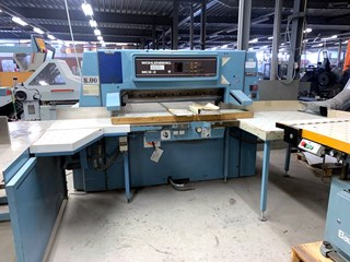 Wohlenberg 115 cutting line Guillotines/Cutters