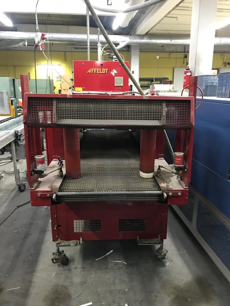 Affeldt SA 05 + VT 60 shrink wrapping machine