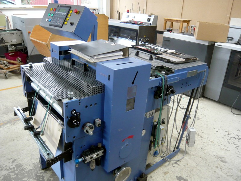 Show details for Bograma BSM Multi 450 die-cutting and punching machine