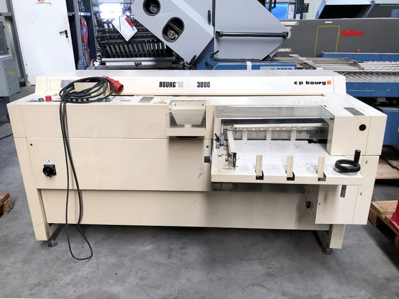 Show details for Bourg BB3000 perfect binder