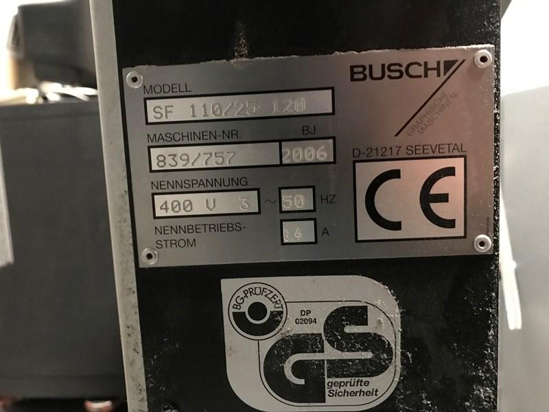 Busch waste conveyor belt SF 110/25-120