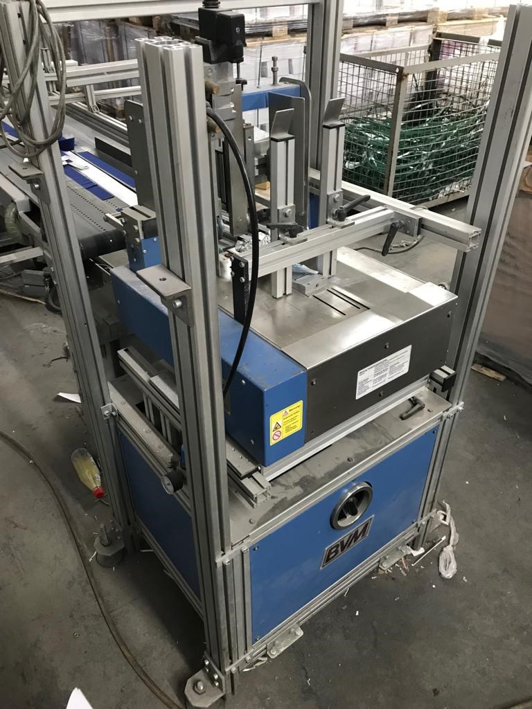 BVM Brunner Mailmaster 4005 Foil Packaging Line