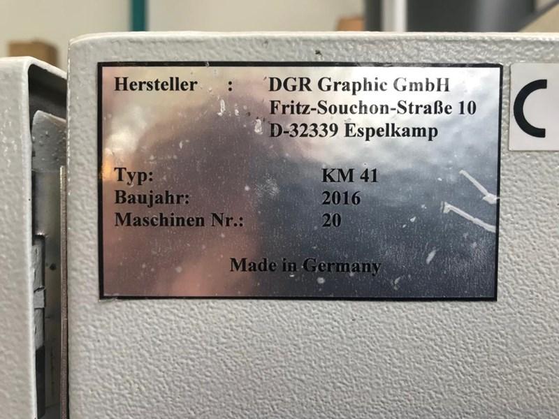 DGR KM 41 perfect binding line for digital binding