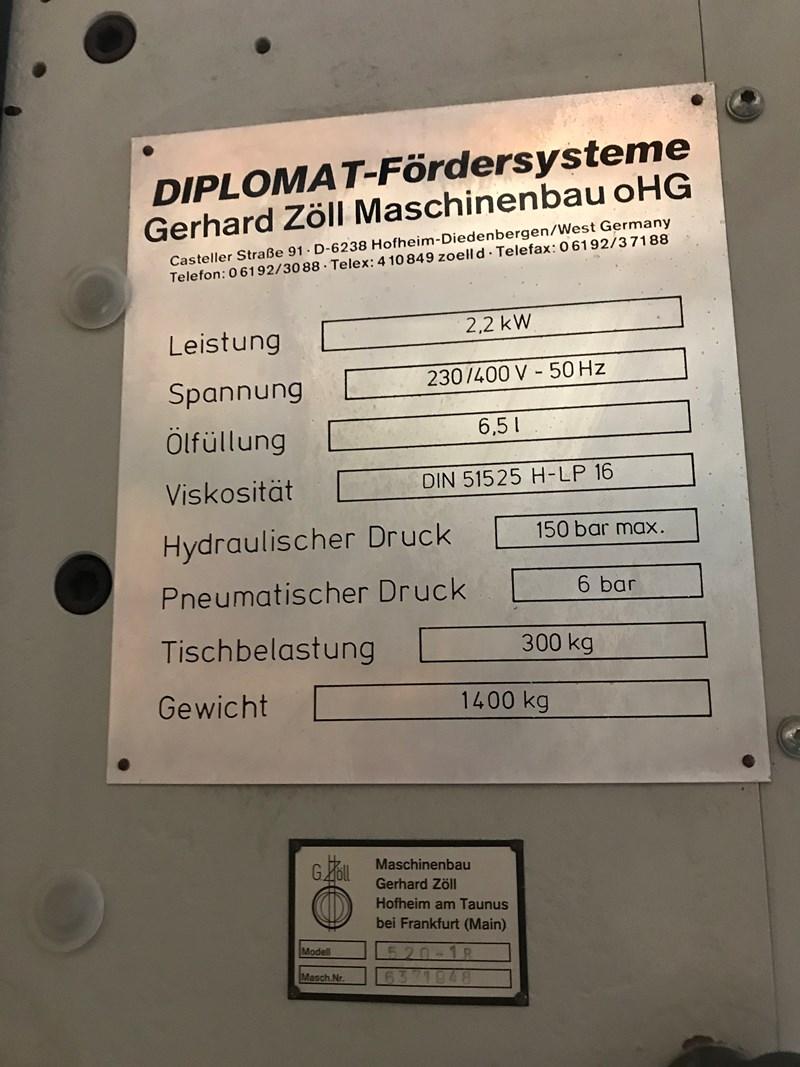 Diplomat 520-1R Unloader