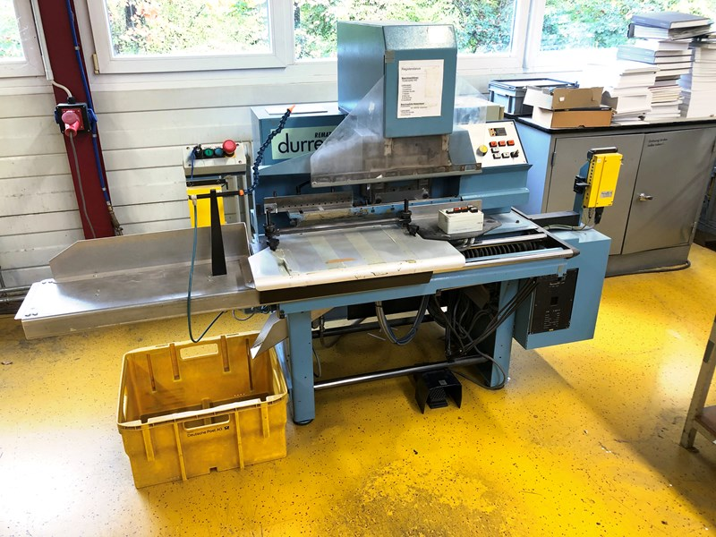 Durrer Remat 3A index cutter