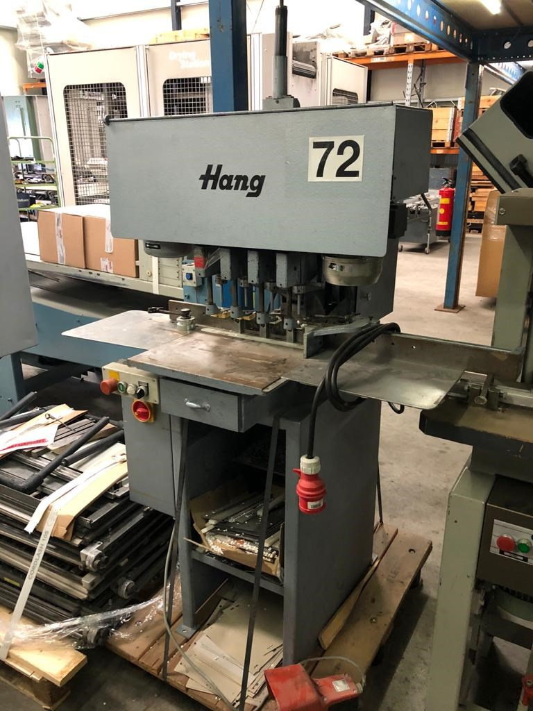 Show details for Hang 136-04 paper drilling machine