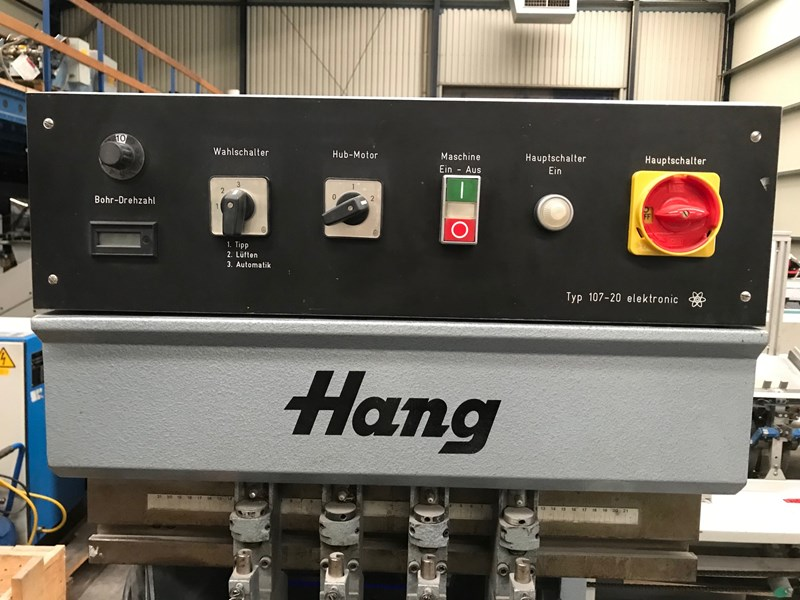 Hang 107-20 4-head drilling machine