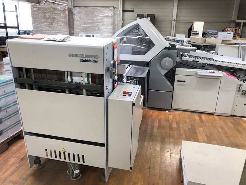 Heidelberg RFH 66/6 folding machine + SBP 66