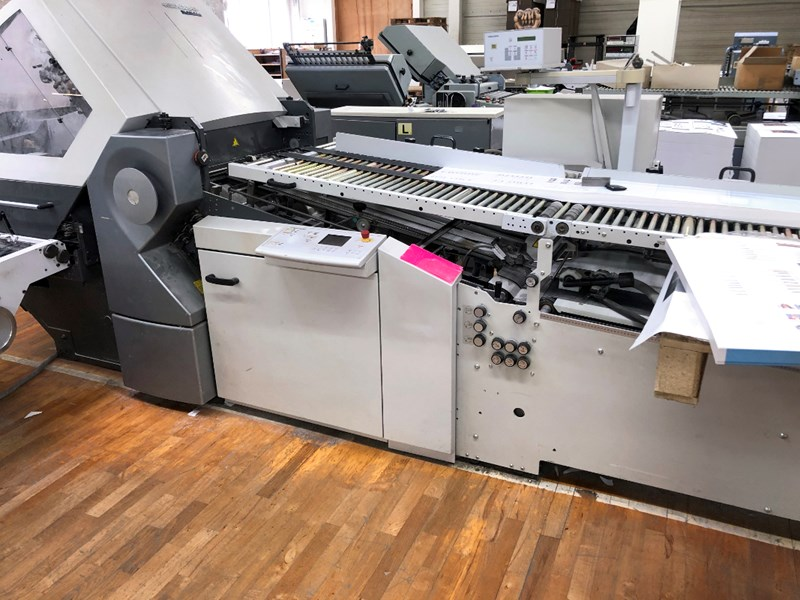 Heidelberg Stahlfolder RFH 66/6 folding machine