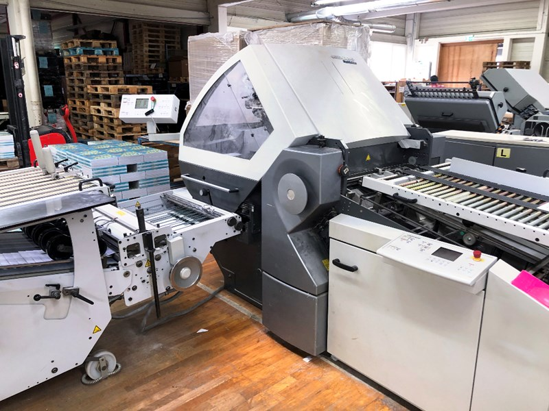 Show details for Heidelberg RFH 66/6 folding machine + SBP 66