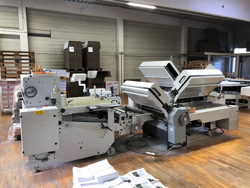 Show details for Heidelberg TD 94 4/4/2 Folding Machine + SBP delivery