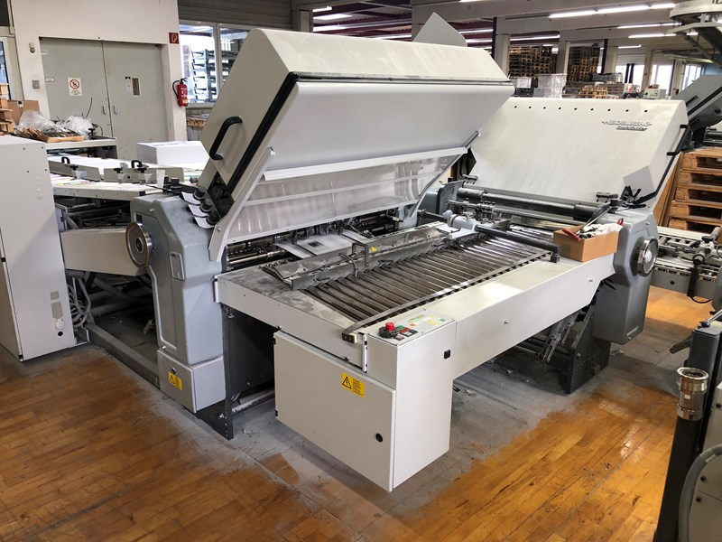 Heidelberg TD 94 4/4/2 Folding machine + SBP 86 delivery