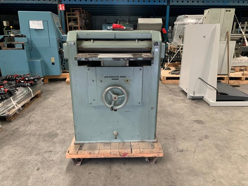 Show details for Jos Hunkeler BRM 70 book back rounding machine