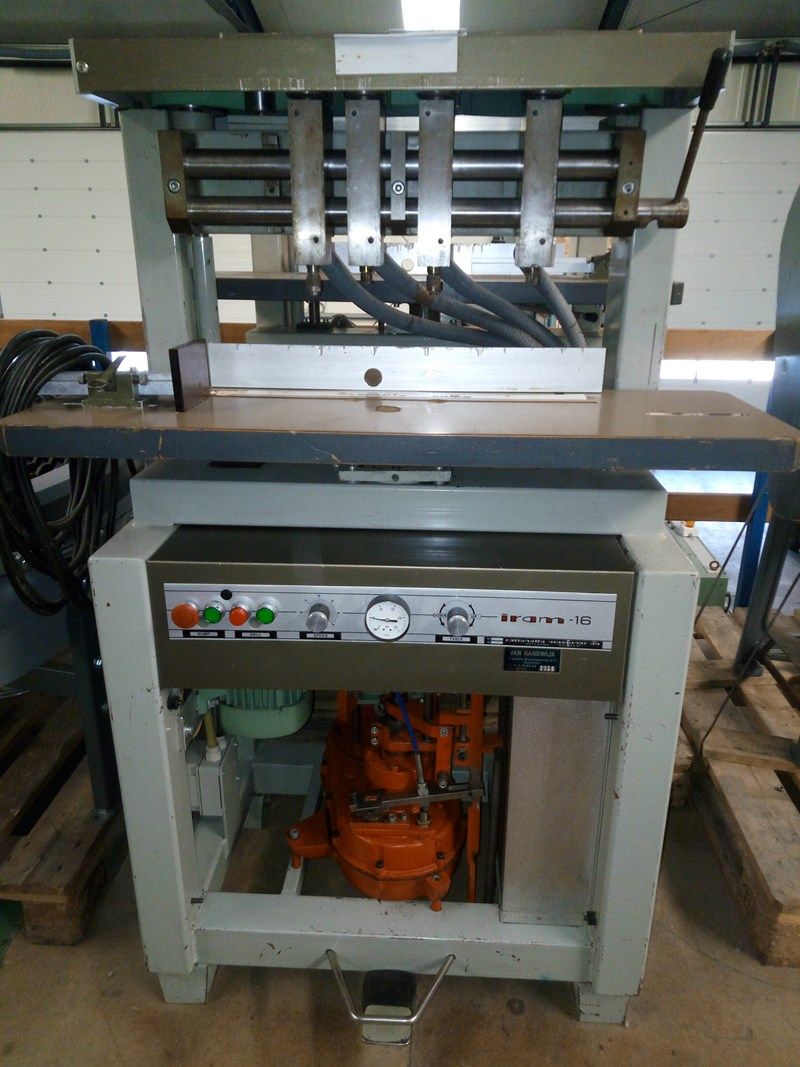 Show details for Iram 16 4 head paper drilling machine