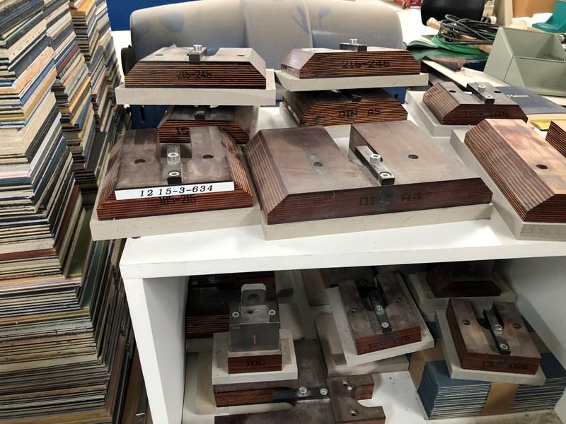 Kolbus HD 130 three knife trimmer