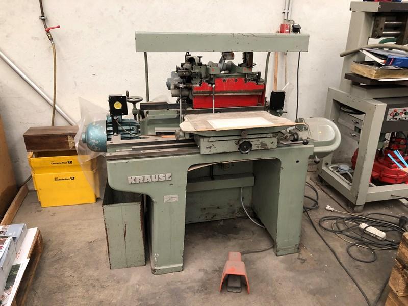 Krause FY 43 UB - 68 index cutter