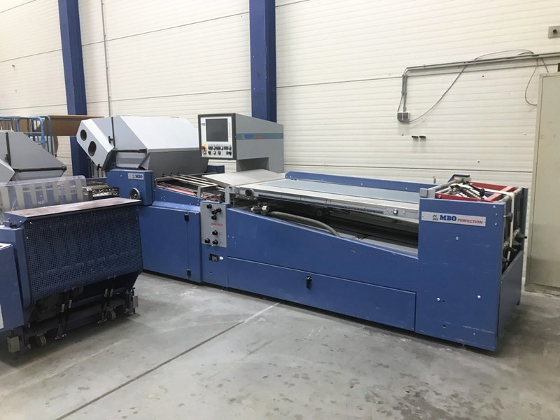 Show details for MBO T 800/442 Navigator folding machine