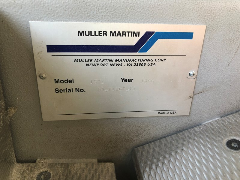 Müller Martini 1571 24-station gatherer with pile delivery