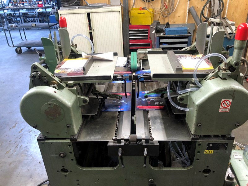 Müller Martini 234 end sheet / cover gluing machine