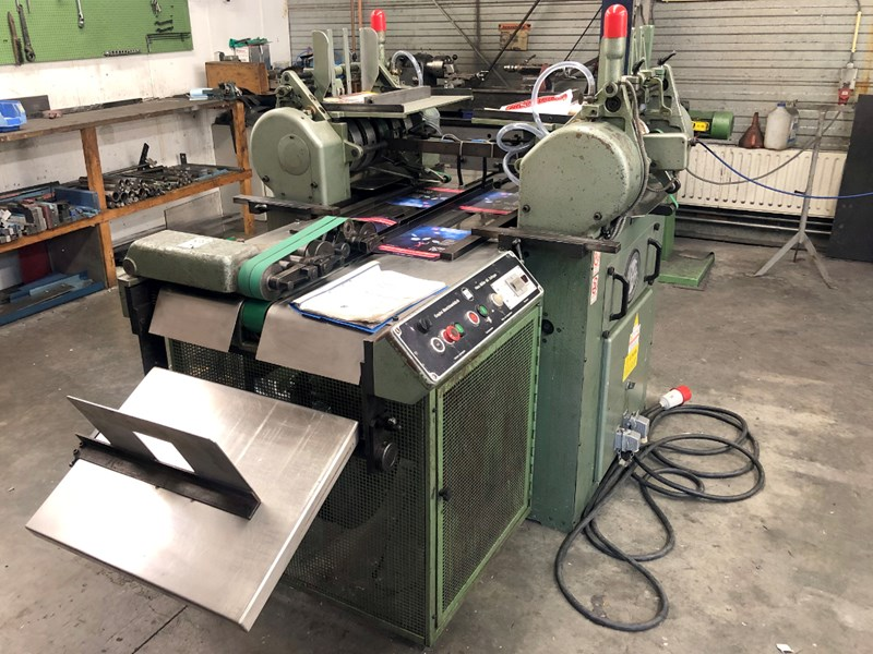 Show details for Müller Martini 234 end sheet / cover glueing machine