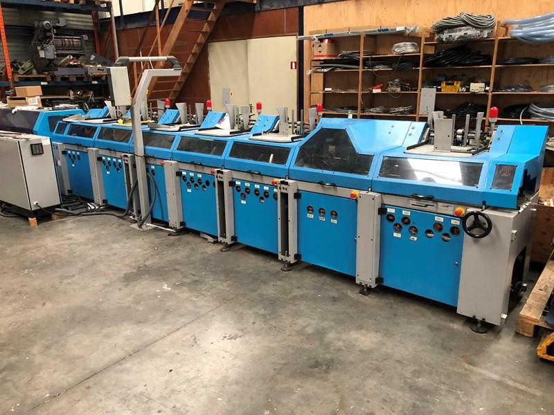 Muller Martini Onyx 6252 inserting machine