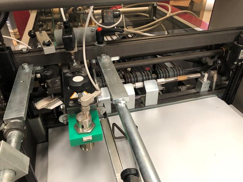 Petratto Cordoba BA creasing folding and gluing machine